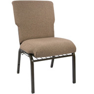 Advantage Mixed Tan Discount Church Chair - 21 in. Wide [EPCHT-105]