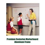 Ghent 4'x10' Premium Centurion Aluminum Frame Whiteboard [A2M410]