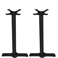Set of 2 - Advantage 5x22-in. Bar & Restaurant Table Bases [CT0522-2]