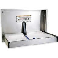 Foundations Horizontal Surface Mount Stainless Steel Changing Station [100SS-SM]