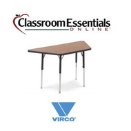Virco Trapezoidal 24x48 Activity Table [48TRAP48]