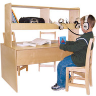 Wood Designs Listening Center Reading Table [WD17300]