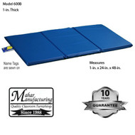 Mahar 3-Section Blue Standard School Rest Mats