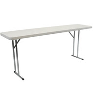 10-pack Advantage 5 ft. Pedestal Leg Folding Training Tables [ADV1860-10]