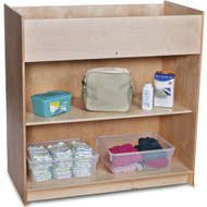 Foundations SafetyCraft Wood Changing Table with Storage [1673047]