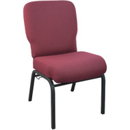 Advantage Signature Elite Maroon Church Chair [PCRCB-104] - 20.5 in. Wide