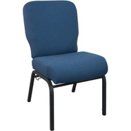 Advantage Signature Elite Navy  Church Chair [PCRCB-101] - 20.5 in. Wide