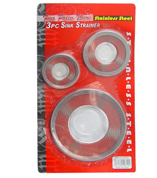 J0082 - 3PC SINK STRAINER