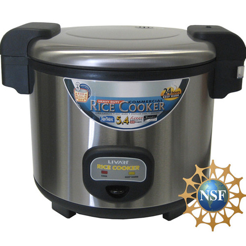 Rice Cooker Livart Regular 35 cup - L-350 - NSF Certified