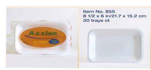 AXX2R - 8.54 X 5.98 INCH FOAM TRAYS  15 TRAYS