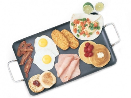 42141 - Nonstick Double Burner Griddle