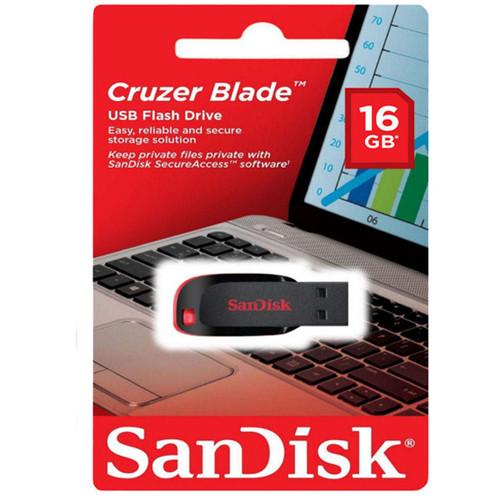 SDCZ-016G -  New Sandisk Cruzer Blade 8gb Usb Flash Drive Thumb Pen Memory Stick
