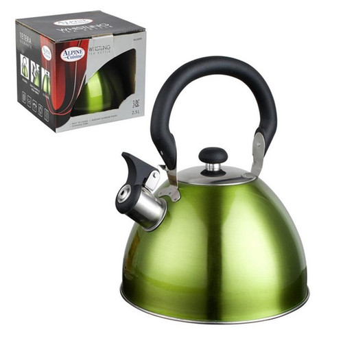 TK2500 - Tea Kettle. 2.5L Whistling - Green