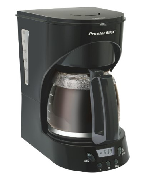 Proctor Silex Programmable 12 Cup Coffeemaker
