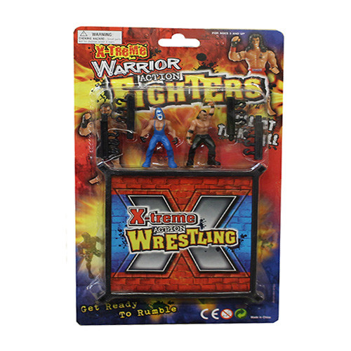 94020 -  X-TEAM WRESTLING PLAY SET WITH FIGURE