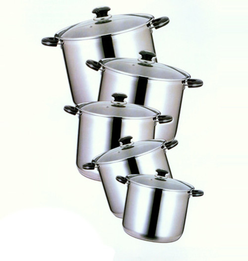 15 QT STAINLESS STOCK POT
