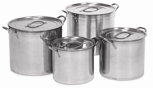 4 Piece Aluminum Nested Stock Pot