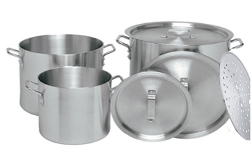 EXTRA JUMBO SIZE STOCK POT SET WITH STEAMER