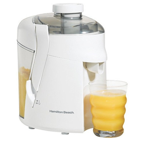 Hamilton Beach - HealthSmart Juice Extractor - White
