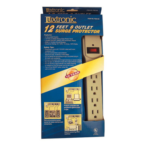 PS612S-6 Outlet Surge Protector
