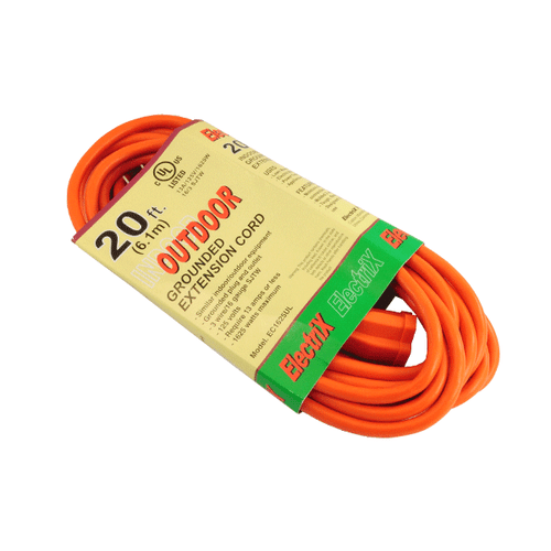 16 GAUGE 20FT OUTDOOR EXTENSION CORD