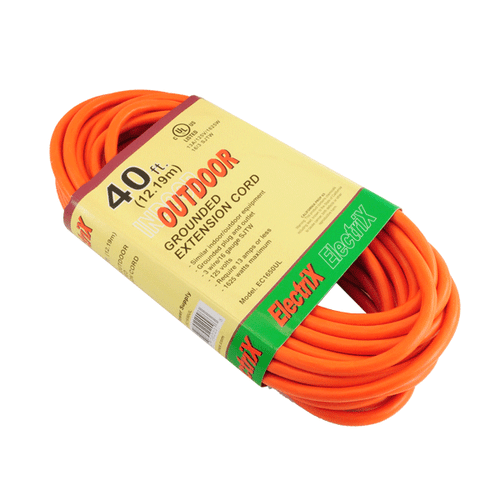 16 GAUGE 40FT OUTDOOR EXTENSION CORD