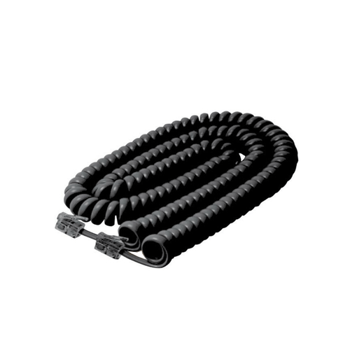 25FT MODULAR COILED HANDSET CORD