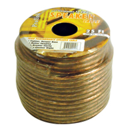 A1225S-25 ft. 12AWG Speaker Wire