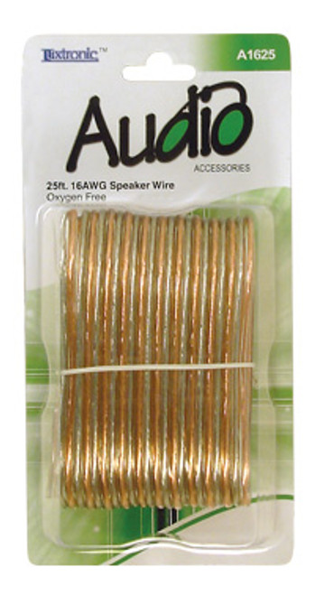 A1625-25 ft. 16AWG Speaker Wire