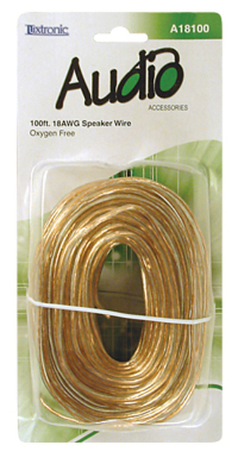 A18100-100 ft. 18AWG Speaker Wire