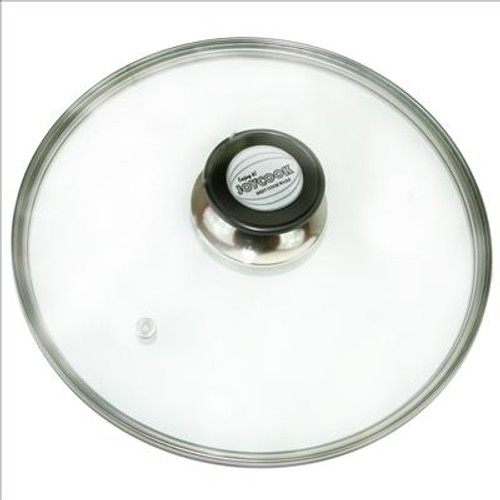 GLASS LID/TIP 28cm  CASE : 10 UNITS