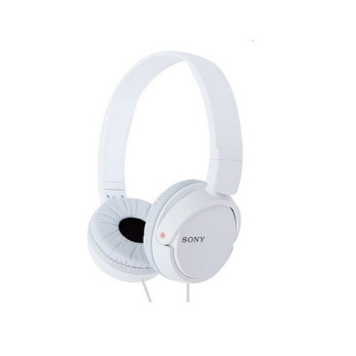 Sony MDR-ZX110/W Headphones   ( WHITE )