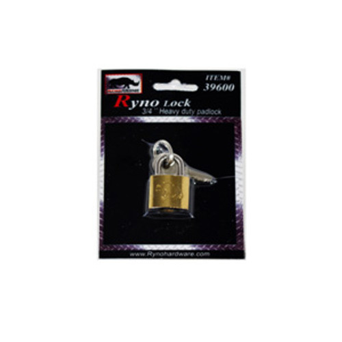 RYNO    3/4 in  BRASS LOCK