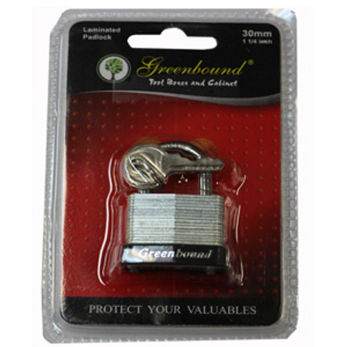 ITEM # 33317   33 mm   Laminated Lock