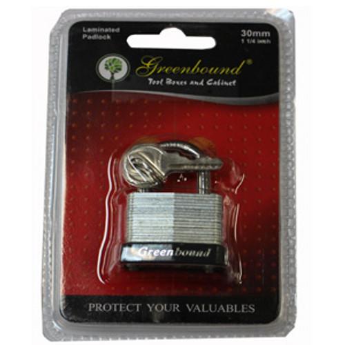 ITEM # 33317   33 mm   Laminated Lock