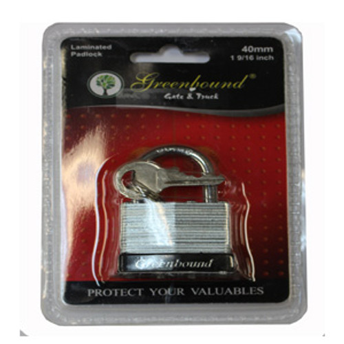 ITEM # 33319    40 mm   Laminated Lock