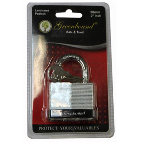ITEM # 33393   50 mm   Laminated Lock