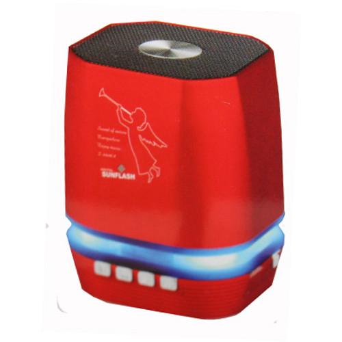 Z2306A - Portable Mini B/T Speaker   ( Red )