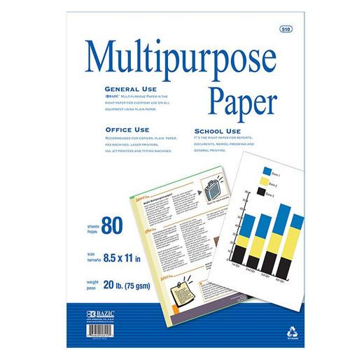 80 ct. White Multipurpose Paper