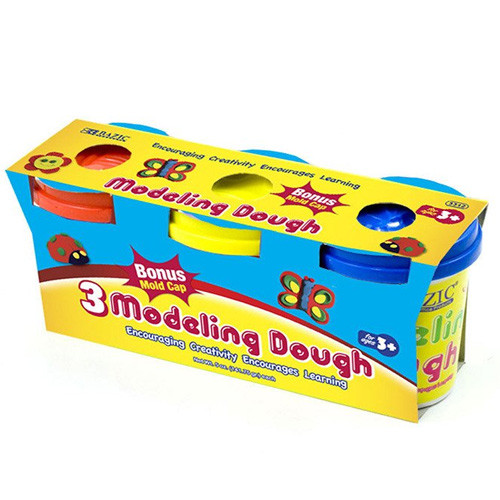 BAZIC 5 Oz. Multi Color Modeling Dough