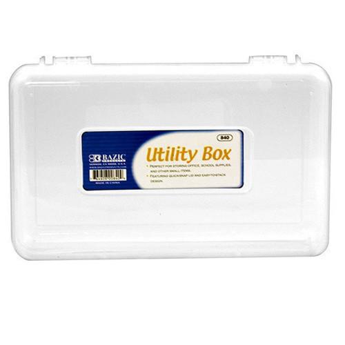 BAZIC Clear Multipurpose Utility Box