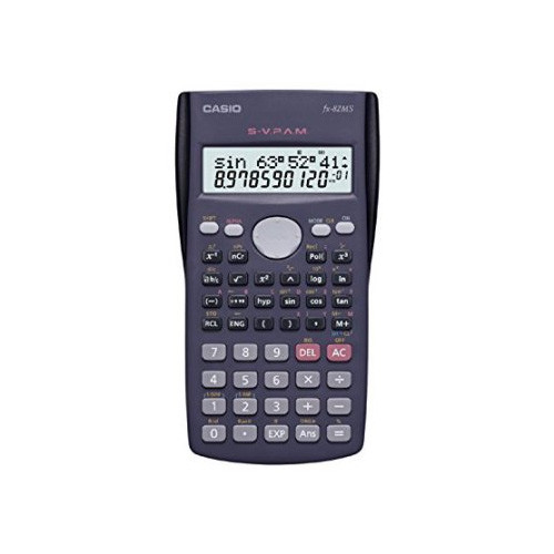 Casio Fx-82ms Plus Bk Display Scientific Calculations Calculator with 240 Functions