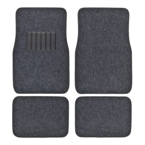 Metro Auto Carpet Mats 4pcs  DARK CHARCOAL