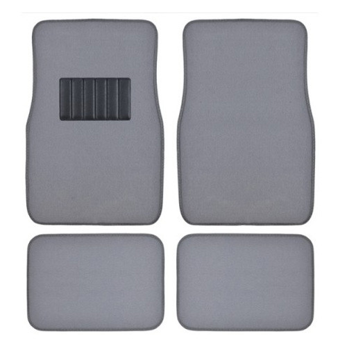 Metro Auto Carpet Mats 4pcs  GREY