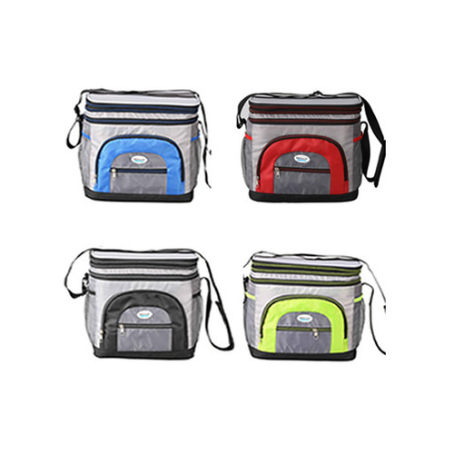 Cooler Bag 6 Can w/ Hard Plastic Ice Bucket (CB-601)