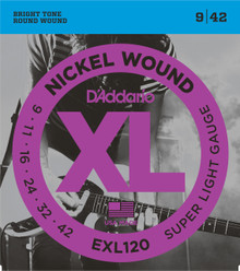 D'addario EXL120 Super Light Electric Guitar Strings