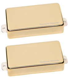 Seymour Duncan AHB-1 Blackouts Active Humbucker Set - gold