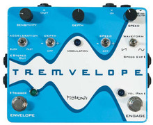 Pigtronix Tremvelope Envelope Modulated Tremolo pedal