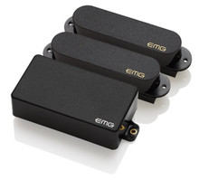 EMG SA/SA/85 HSS Strat Pickup Set - black