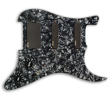 EMG SL20 Steve Lukather SLV / SLV / 85 Prewired Pickguard / Pickup set - black pearloid / black